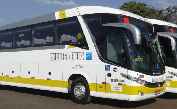 Empresa Cruz ônibus 1