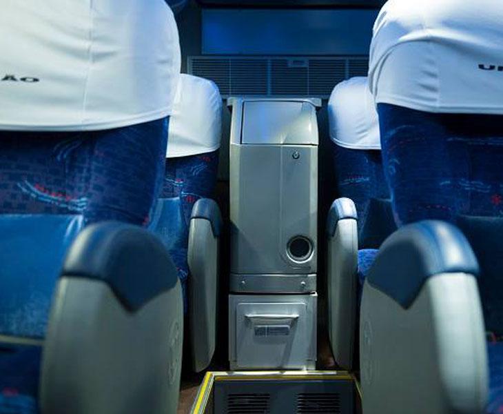 Expresso Uniao Bus Interior