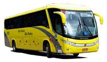 Viaçao Sao Pablo Sao Pedro ônibus