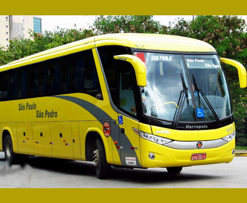 Viaçao Sao Pablo Sao Pedro ônibus 1